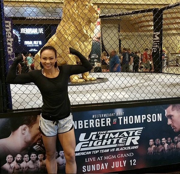 Hot michelle waterson 59 Sexiest