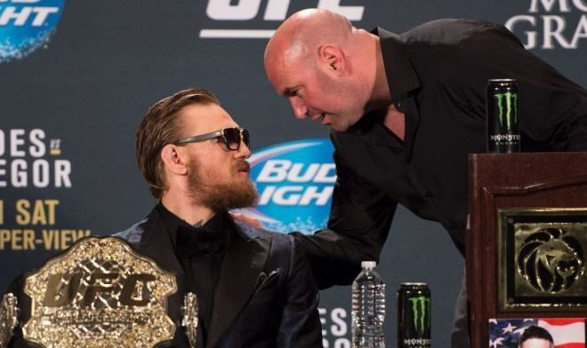 Dana White Talks With Conor McGregor