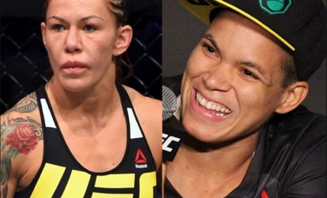 Amanda Nunes and Cris Cyborg