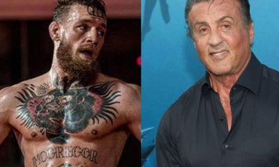 Conor McGregor and Sylvester Stallone