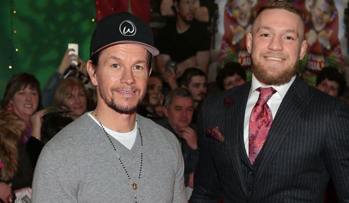 Mark Whalberg and Conor McGregor