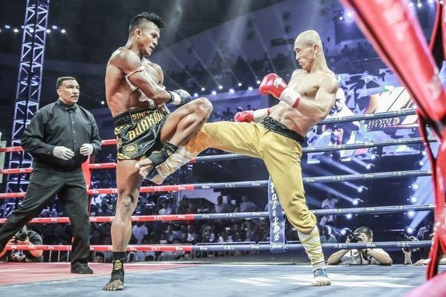 Buakaw and Sholin Monk