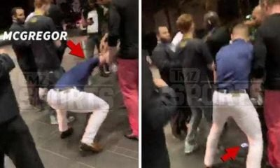 Conor McGregor Stomping on Phone on Video