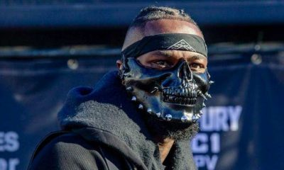 Deontay Wilder Mask