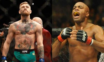 Anderson Silva and Conor McGregor